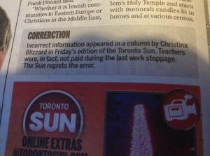 Correction Fail
